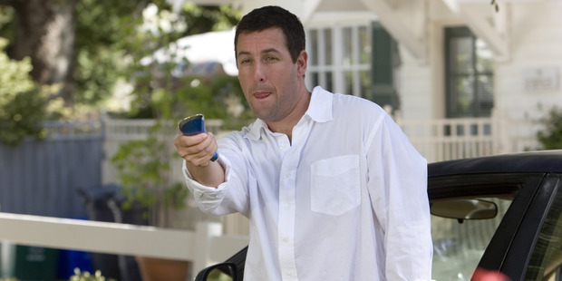 Adam Sandler has been revealed as one of Hollywood's worst reviewed actors.