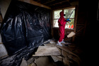 Housing NZ has spent $5.8 million so far this year testing and cleaning up state houses contaminated with methamphetamine. Photo / Dean Purcell