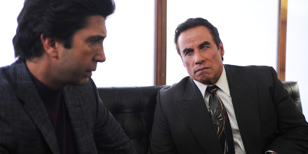 A scene from the TV show The People v OJ Simpson: American Crime Story.