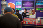 Bayfair Lotto may not be in the top five luckiest stores, but they are still busy. PHOTO/FILE