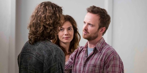 Aaron Paul stars in the new TV show, The Path.