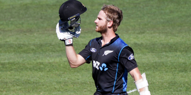 In 2015 Kane Williamson scored 2,692 runs at an average of 65.65 and strike rate of 75 across all international formats. Photo / Paul Taylor