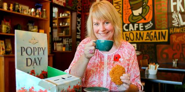 Wendy Reading from Havelock North was crowned Best Anzac Biscuit Baker in the Bay. Photo / Warren Buckland