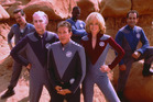 The sci-fi comedy Galaxy Quest starred Alan Rickman, Sigourney Weaver and Tim Allen.