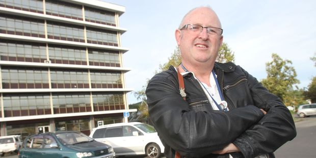 Carl Gilpin is disputing a $40 fine for illegal parking in a Masterton District Council-owned carpark in the town. PHOTO/ANDREW BONALLACK