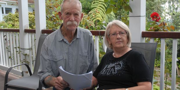 Masterton's Jim and Sally Field still have the paperwork from the Earthquake Commission for their house in New Brighton, Christchurch. PHOTO/EMILY NORMAN