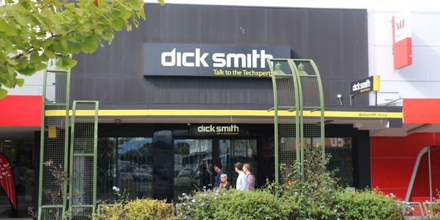 The Dick Smith branch in Masterton closed down yesterday after the Australian company's collapse and subsequent move in to receivership on January 5. PHOTO/HAYLEY GASTMEIER