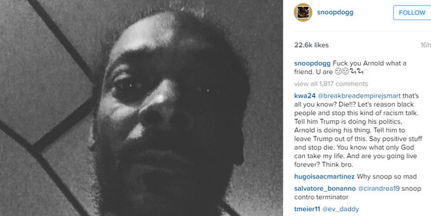 In the Instagram clip, Snoop fumes at the apparent case of cronyism.