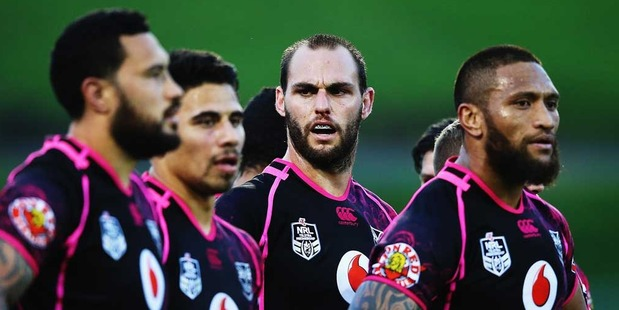 New Zealand Warriors. Photo / Getty Images.