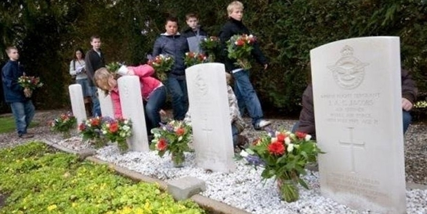 Commonwealth war graves in Wierden, including that of Matamau's Terence Murphy,  have been adopted by Immanuel School students.