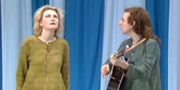 Old footage of Cate Blanchett appearing on Hey, Hey, It's Saturday has emerged.