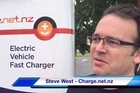 Petrol company Z is rolling out electric car chargers at selected sites around New Zealand.
