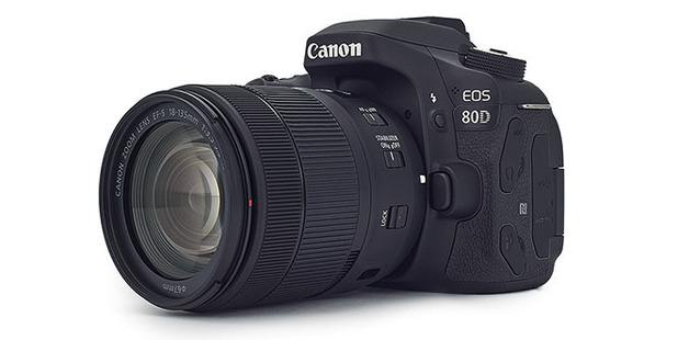 Canon's EOS 80D DSLR.