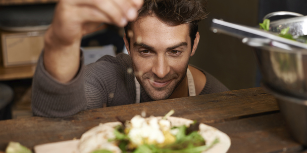 When it comes to food, men look at things differently to women. Photo / Getty