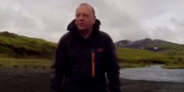 Loading Videos on the memory card consisted of the man in a number of different tourist spots throughout Iceland. Photo / Supplied