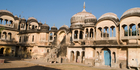 The facade of an old building in Shekhawati, where almost a quarter of India's richest people hail from. Photo / iStock