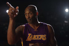 Kobe Bryant appears in a Nike ad before in his final NBA game. Photo / YouTube
