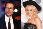 Guy Pearce and Kylie Minogue. Photos / Getty Images