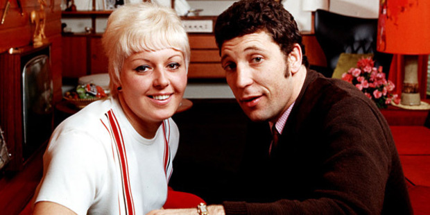 1967, A picture of Welsh singer Tom Jones at home with his wife Melinda (Linda) Woodward. Photo by Popperfoto/Getty Images