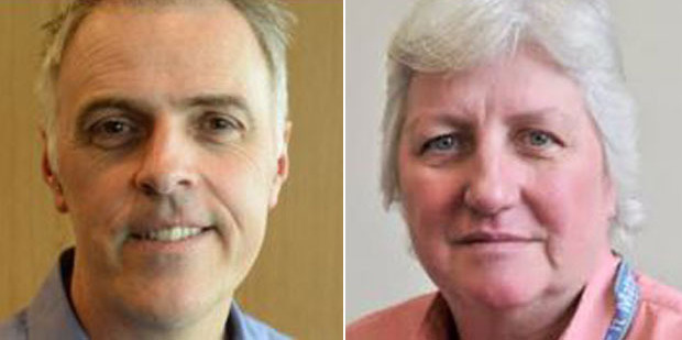 Consultant Tim Keogh and chief executive Carole Heatly. Photos / Otago Daily Times
