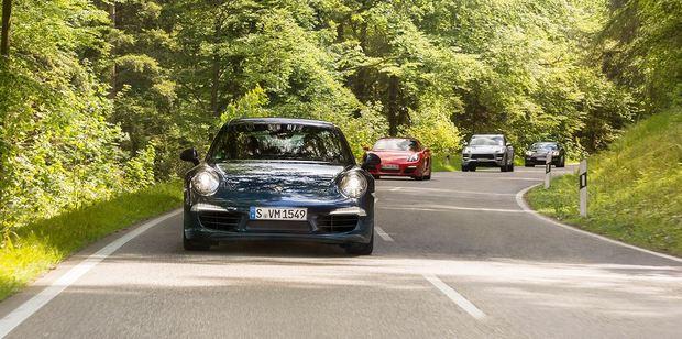 Porsche's Travel Club dates back 20 years. Photo / Porsche Travel Club