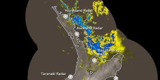 Rain radar. Photo / MetService