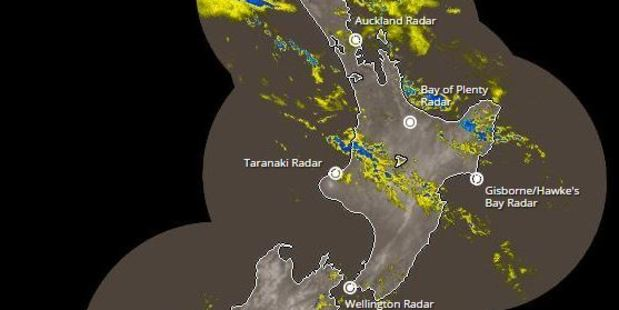 Northern and eastern regions will be dodging showers all day. Photo / MetService