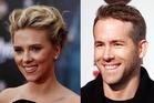Scarlett Johansson and ex-husband Ryan Reynolds. Photos / AP