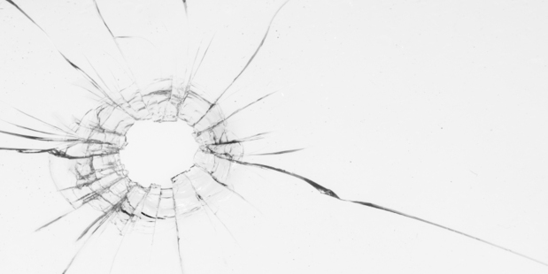 Two people smashed windows at the Blackball house. Photo iStock