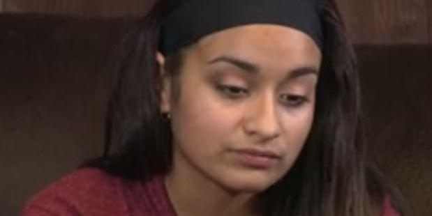 """Loading Janissa Valdez """"landed on her face"""". Photo: KSAT/ABC12"""