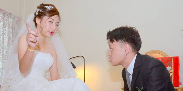 Some of the photos this bride received were just plain unflattering. Photo / Jaclyn Ying/Facebook