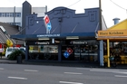 Domino's Pizza on Water St, Whangarei, was the scene of an aggravated robbery on Wednesday night, the third in the city in a week. Photo / John Stone