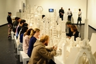 INTERACTIVE: The work needs an audience's touch. PHOTO/SUPPLIED