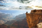 Visitors to the Grand Canyon find stunning views. Photo / 123RF