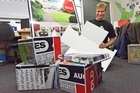 Repurposed real estate signs will soon be popping up in classrooms and workplaces around the country. Tauranga's Environmental Education and Resource Sustainability Trust chairman Marty Hoffart  explains.
