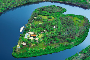 Makepeace Island in the Noosa River, Noosa, Queensland. Photo / Queensland Tourism