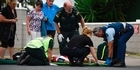 Watch: Cyclist hit by car at Mount Maunganui