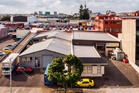 An elevated view of 1 & 3 George St in Mt Eden.