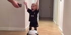 18 month old performs Haka