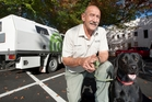 Rotorua Lakes Council animal control supervisor Kevin Coutts, with his dog Lucy, will talk to children at the Rotorua Library tomorrow. Photo / Ben Fraser