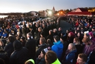 Last year's dawn service at Ohinemutu drew big crowds.