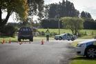 The scene where 5-year-old Shinia Matehaere was killed on Saturday. Photo / Andrew Warner