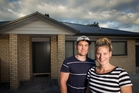 HOMEOWNERS: First home buyers Jessie and Liam Coleman have made the leap into the property market. PHOTO/STEPHEN PARKER