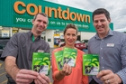 Hastings Countdown manager Richard O'Mahony (left),