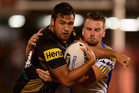Peta Hiku of the Penrith Panthers. Photo / Getty Images