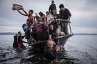 Refugees arriving at Lesbos. Photo / Sergey Ponomarev/The New York Times/Columbia University via AP