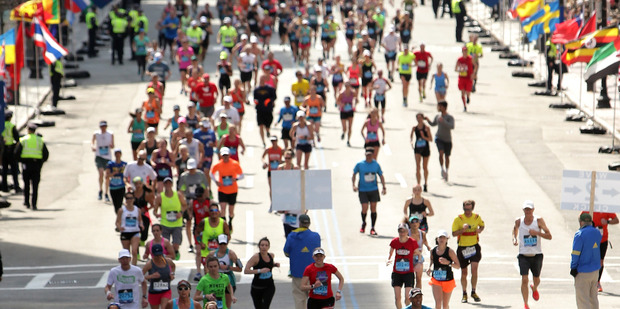The distance of the Greater Manchester Marathon was too short by 380 m. Photo / Getty Images.