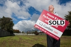 Good sections sell fast in Rotorua, according to Rotorua G J Gardner sales consultant Trevor Newbrook. Photo / Ben Fraser