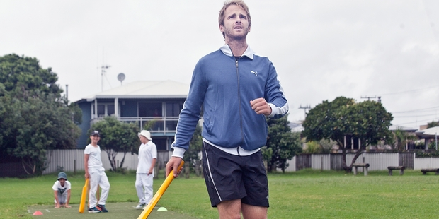 CASUAL: Kane Williamson at Mount Maunganui Primary last month.