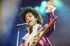 Prince made purple his colour and dressed in a way that pushed boundaries. Photo / AP
